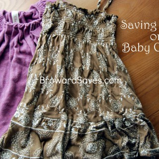 How To Save Money On Baby Clothes