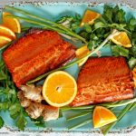 Delicious Orange Ginger Glazed Salmon Recipe
