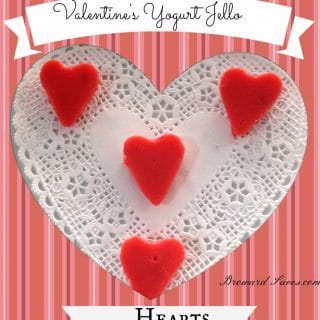 Valentine's Day Treat – Yogurt Jell-O Hearts