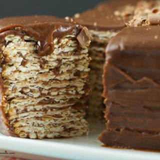 Icebox Matzo Cake Recipe