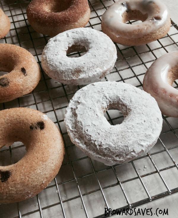 Skinny Homemade Baked Donuts Recipe