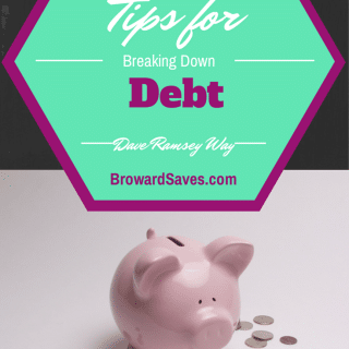 5 Tips For Breaking Down Debt (The Dave Ramsey Way)