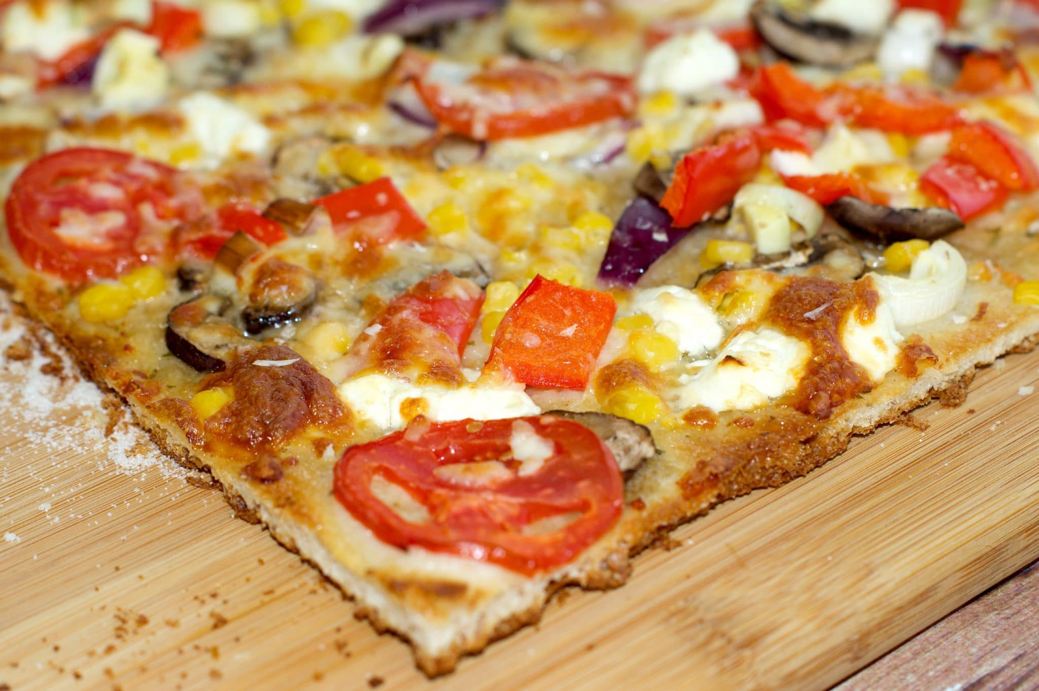 Ranch Goat Cheese Pizza - Living Sweet Moments