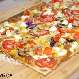 Ranch Goat Cheese Pizza