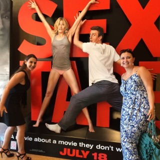 Sex Tape The Movie: My Interview With The Actors  #SexTapeMovie