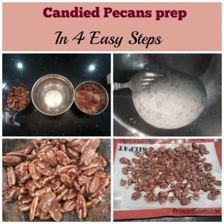 Super Easy Candied Pecans Recipe