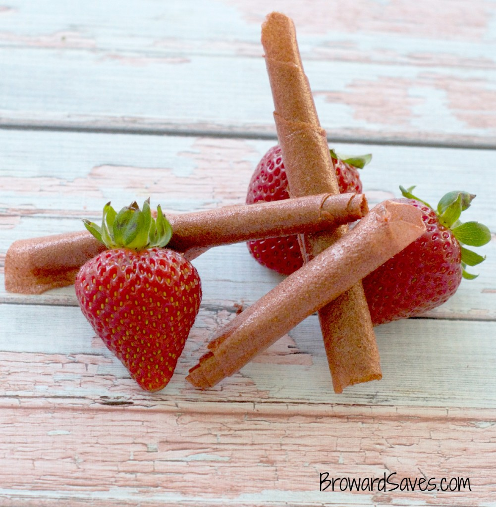 Homemade Strawberry Fruit Roll Ups Recipe - Living Sweet Moments