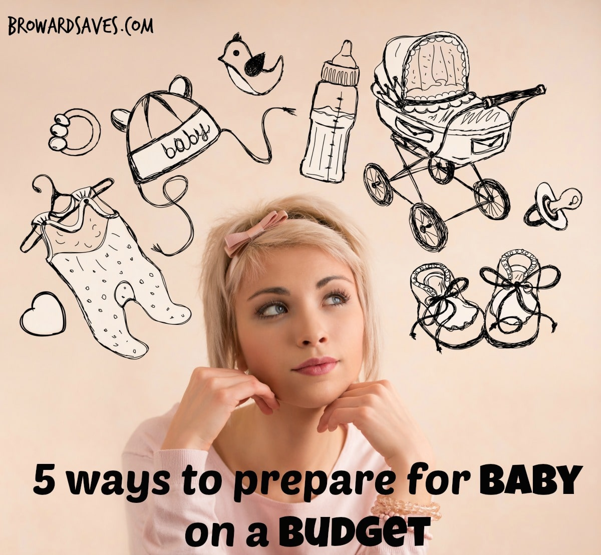 5 ways to prepare for baby on a budget (edited)