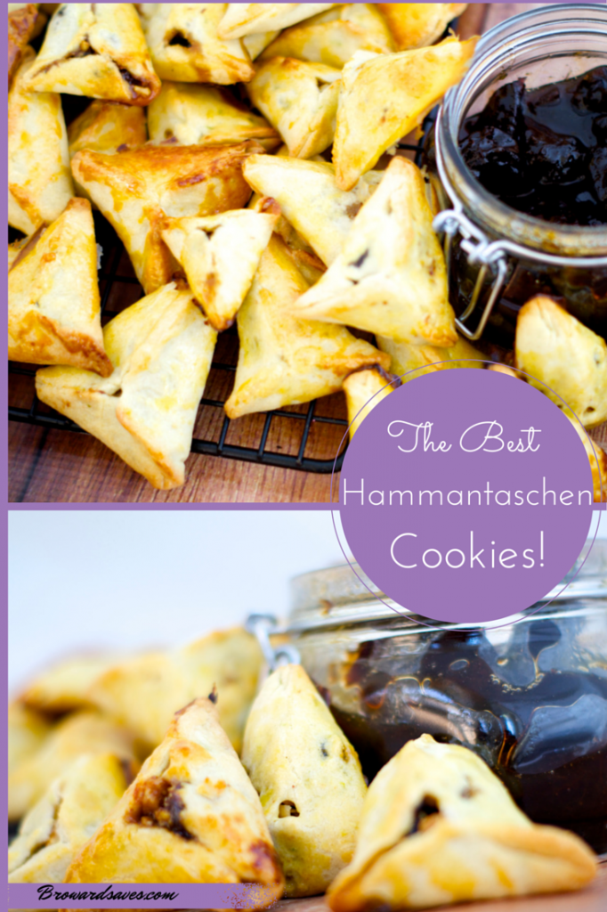 This hamantashen cookie recipe are too die for! Made with homemade Jam and walnuts. Try this for your next holiday and your guest will surely be pleased.