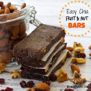 Chia Fruit And Nut Bar Recipe