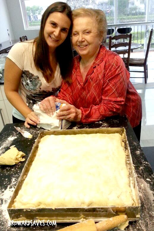 Baking with my Grandma