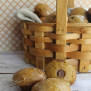 Easy Pumpkin Muffins With Orange Maple Glaze