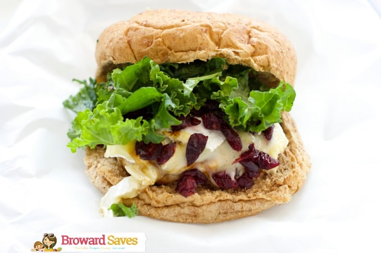These delicious Turkey Burgers with Brie and cranberry cooks in 15 minutes or less. The perfect gourmet burger recipe to enjoy for lunch or dinner.