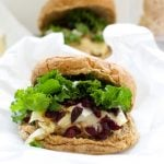 Turkey Brie & Cranberry Burger Recipe