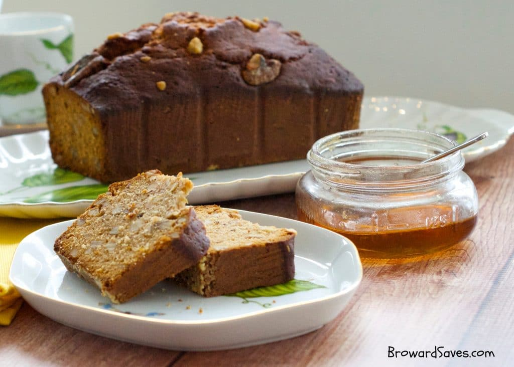 This delicious walnut honey bread recipe is perfect for breakfast, brunch or even as a snack! Perfect for any Jewish Holiday or celebration!
