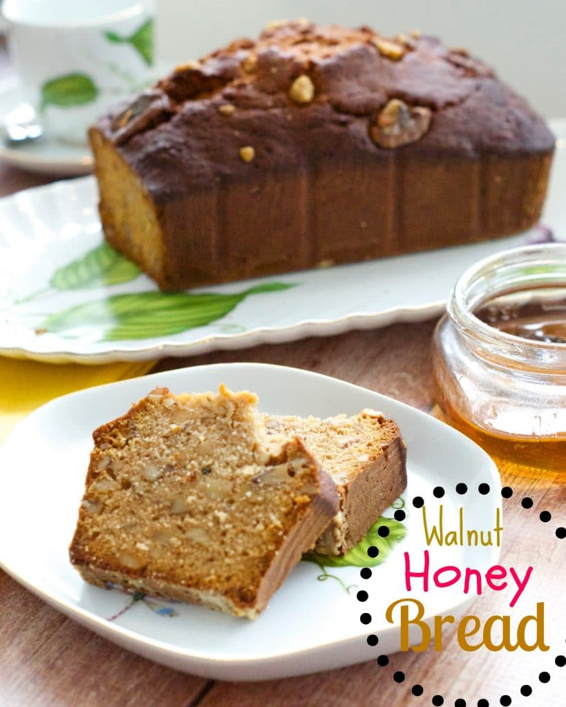 Walnut Honey Bread Recipe