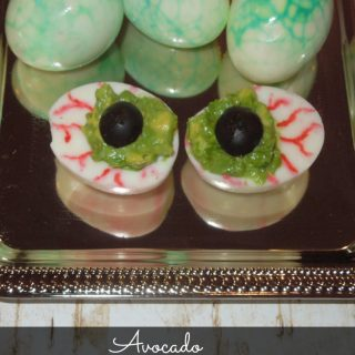 Halloween Treat: Avocado Monster Egg Recipe