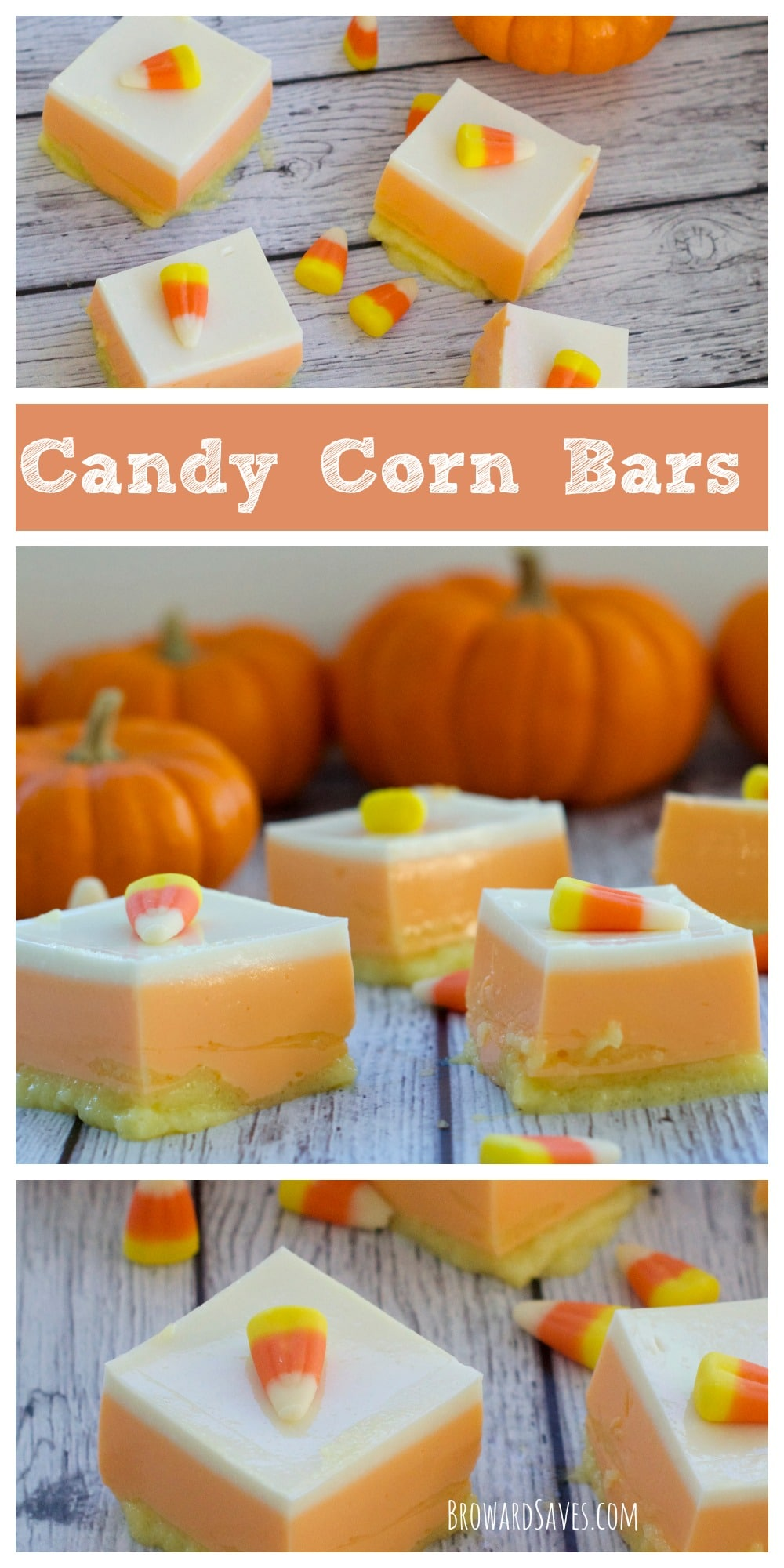 These healthy Candy Corn Bars are made with Yogurt and Jell-O. Both fat and sugar-free. They are delicious, easy to make and kids love it.