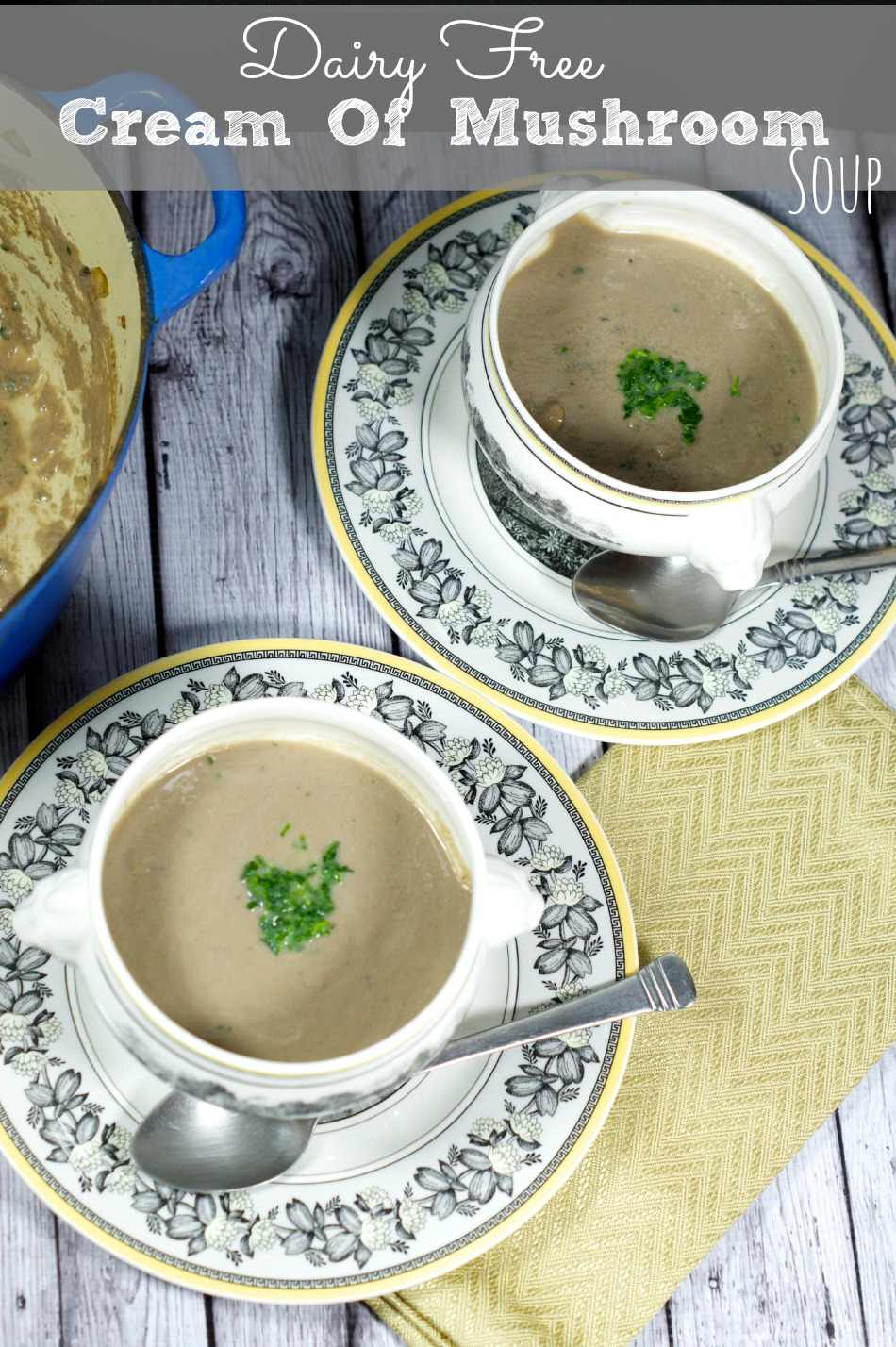 Non Dairy Cream Of Mushroom SoupLiving Sweet Moments