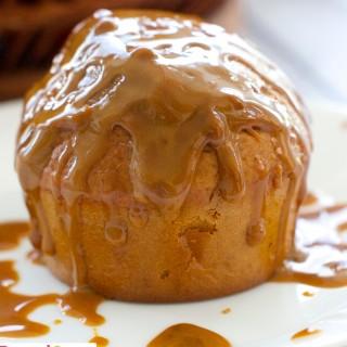 Easy 3 Ingredient Dulce De Leche Muffins