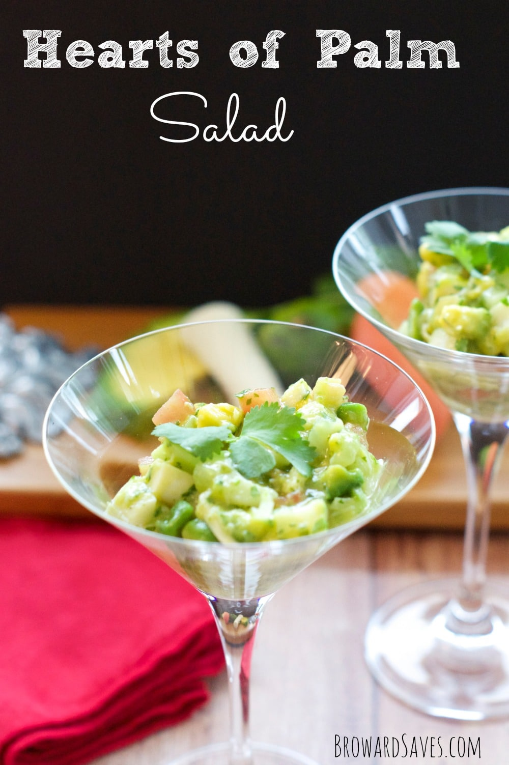 ... Hearts Of Palm salad is made in minutes and satisfied a crowd. Forget