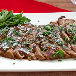 Marinated Flank Steak Dinner Recipe