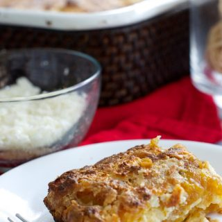 Venezuelan Recipes : Plantain Casserole