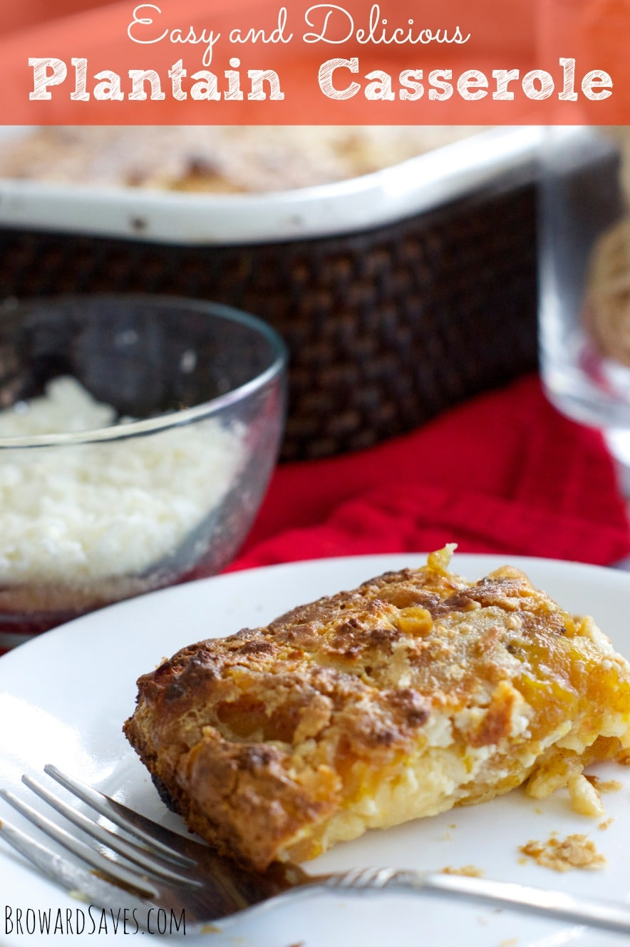 This delicious Venezuelan Plantain Casserole recipe is very easy to make and delicious. The perfect side dish to any dinner or celebration.