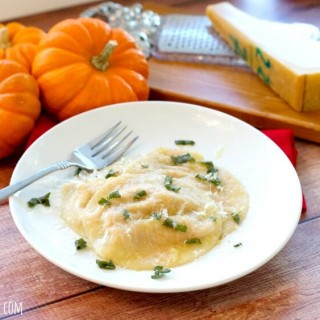 Pumpkin Ravioli Recipe And Butter Sage Sauce