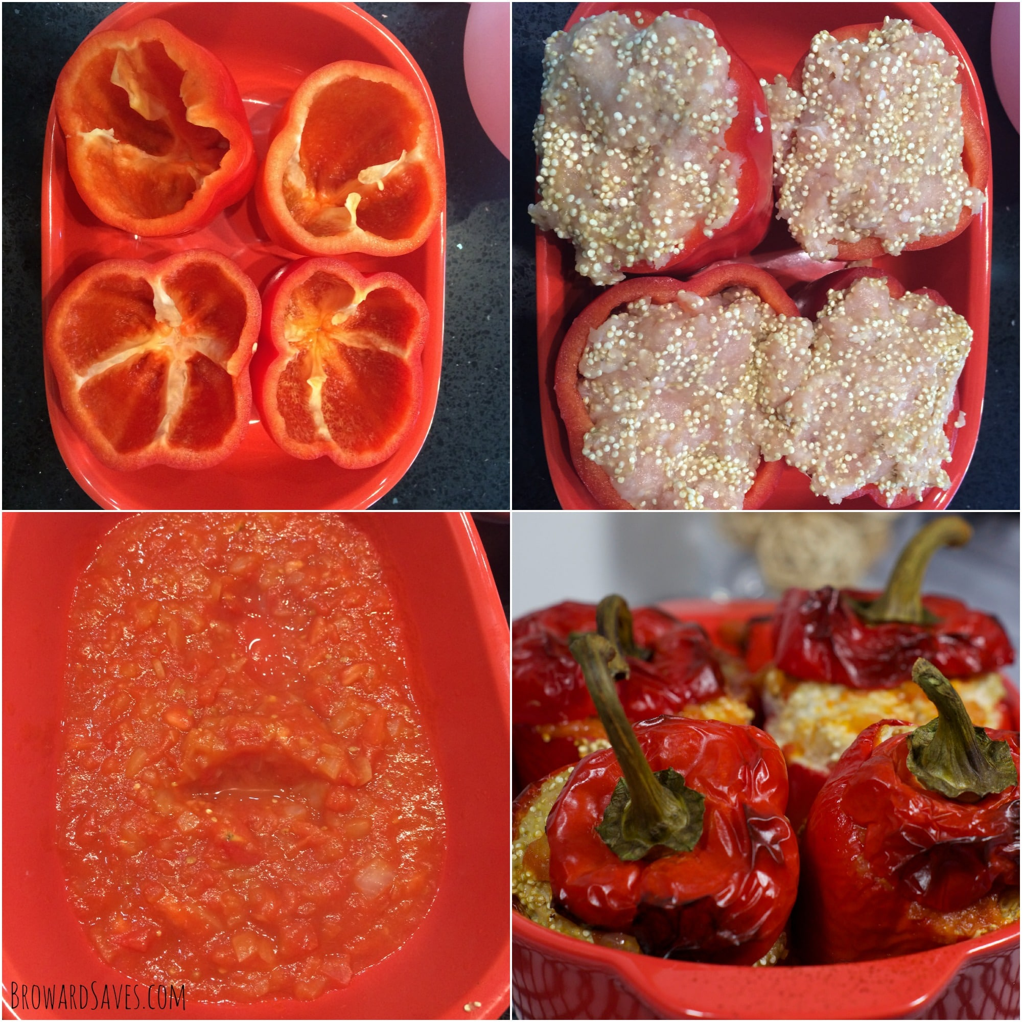 Easy stuffed peppers recipes
