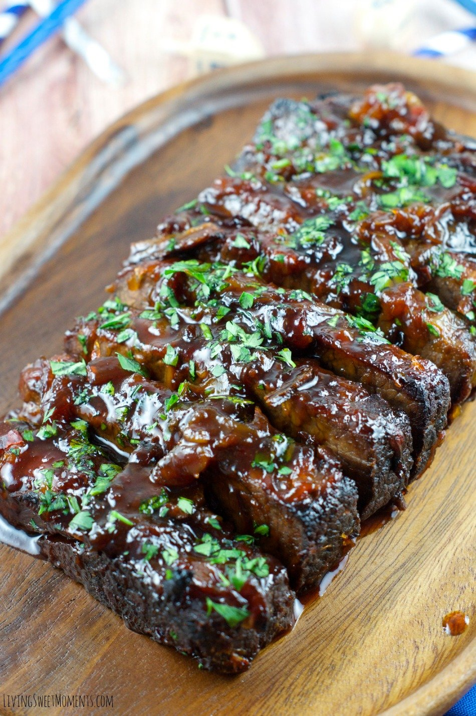 Jalapeño Brisket Recipe - This melt in your mouth Brisket is sweet with just a hint of heat. Delicious for dinner or any Holiday Occasion