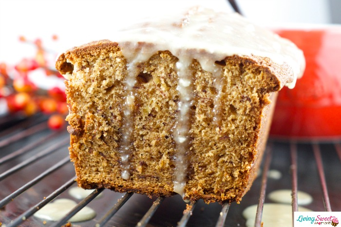 banana-gingerbread-with-brown-butter-glaze-4