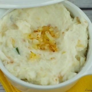 Caramelized Onions Mashed Potatoes Recipe