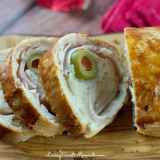 Holiday Ham Rolled Bread Recipe (Pan De Jamon)