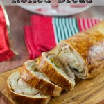 Holiday Ham Rolled Bread Recipe (Pan De Jamon)