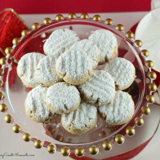 Vegan Walnut Snowball Cookies Recipe