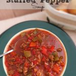 Crock Pot Stuffed Pepper Soup Recipe