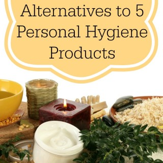 Natural (cheap!) Alternatives to 5 Personal Hygiene Products