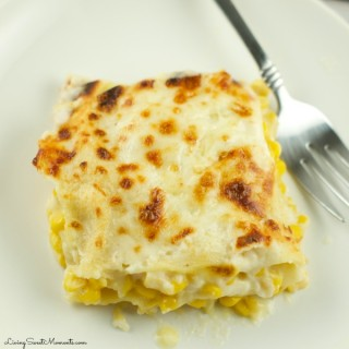 Creamy Corn Lasagna Recipe
