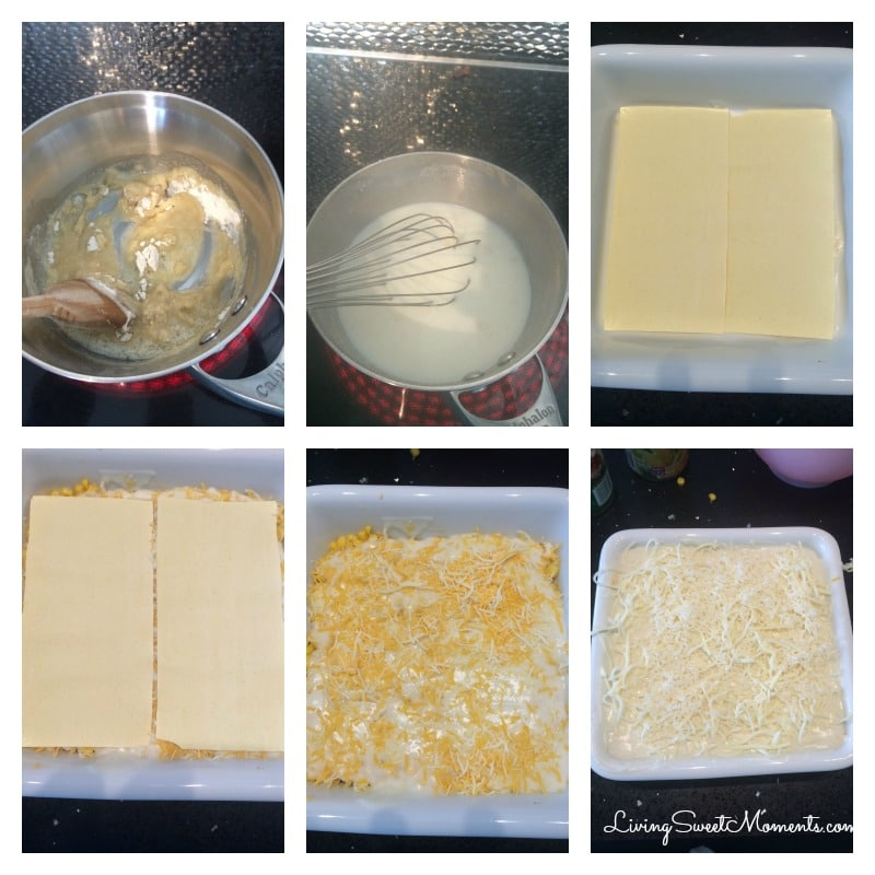 corn-lasagna-recipe-in-process