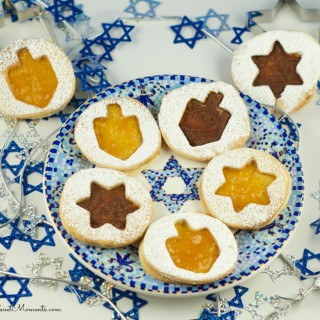 Hanukkah Jelly Cookie Recipe