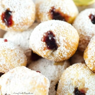 4-Ingredient Quick Jelly Donut Recipe