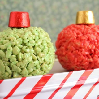 Rice Krispies Ornaments