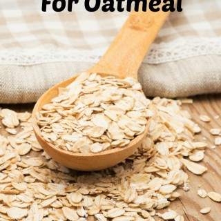Alternative Uses For Oatmeal