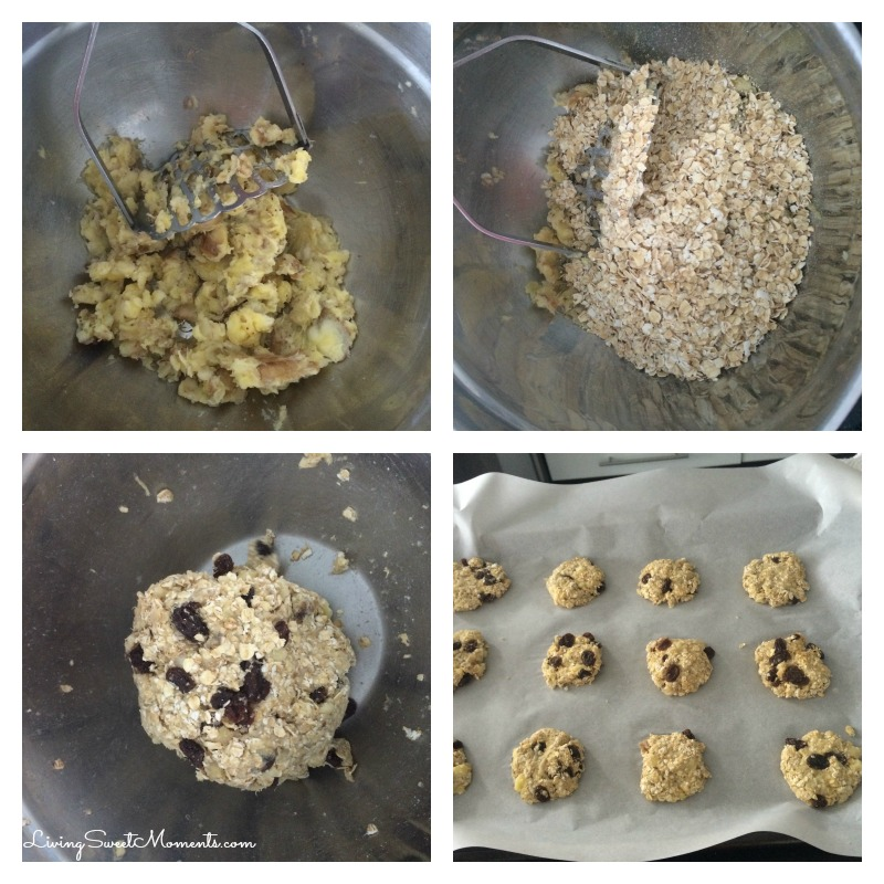 banana-oatmeal-cookies-recipe-in-process