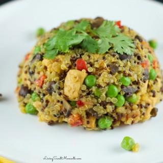 One-Pot Quinoa Arroz Con Pollo