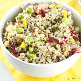 Quinoa Edamame Salad Recipe
