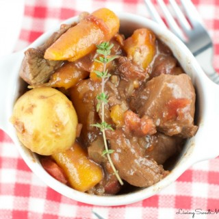 Slow Cooker Smokey Beef Stew Recipe