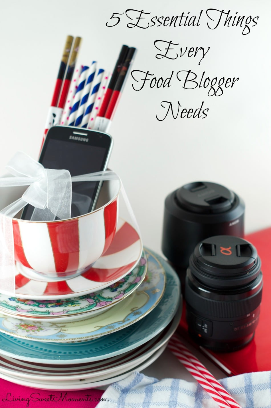 5 Essential Things Every Food Blogger Needs (Video Tutorial) - Becoming a food blogger requires much more than delicious food. Here's a video and a list of other items that are recommended in order to become a better blogger and run a successful post.