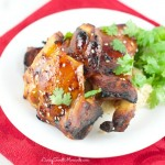Asian Glazed Chicken Thighs - Delicious chicken dinner in minutes. Only requires few ingredients to make this easy but tasty chicken.